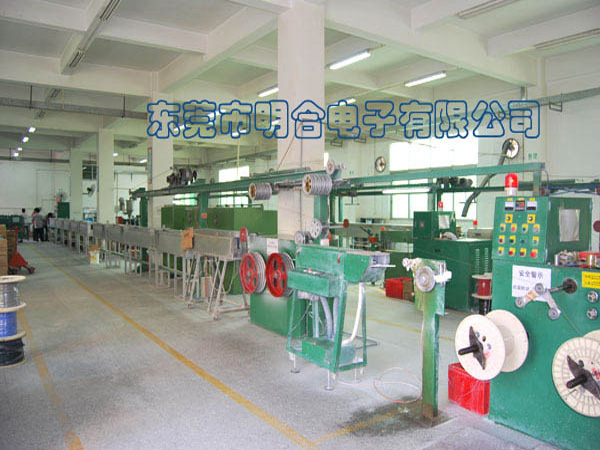 硅胶线生产车间