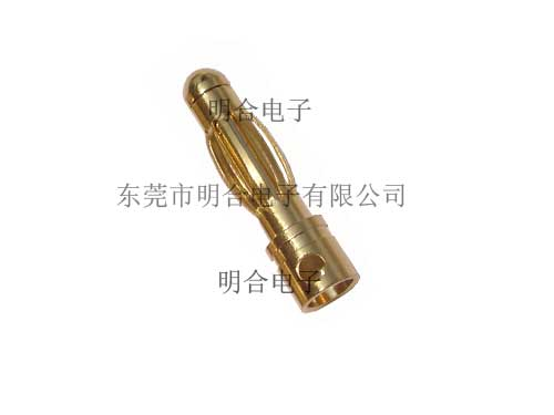 4.0mm香蕉插头公型