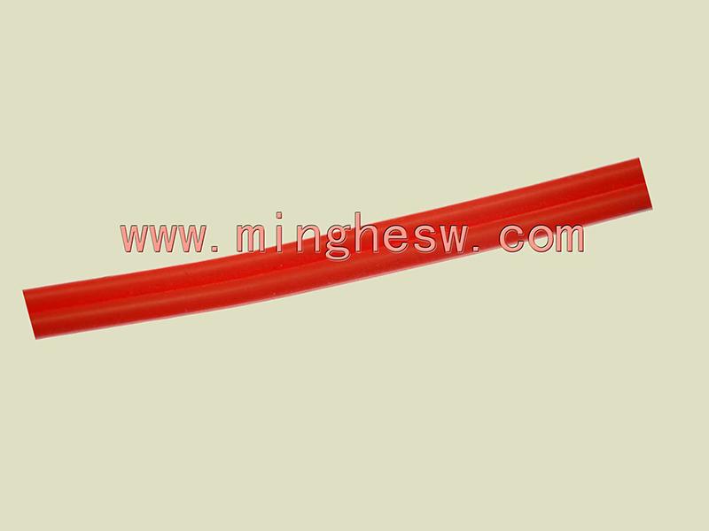 红色硅胶并线
